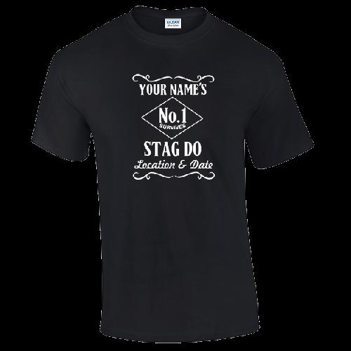 Jack Daniels custom stag holiday T Shirts