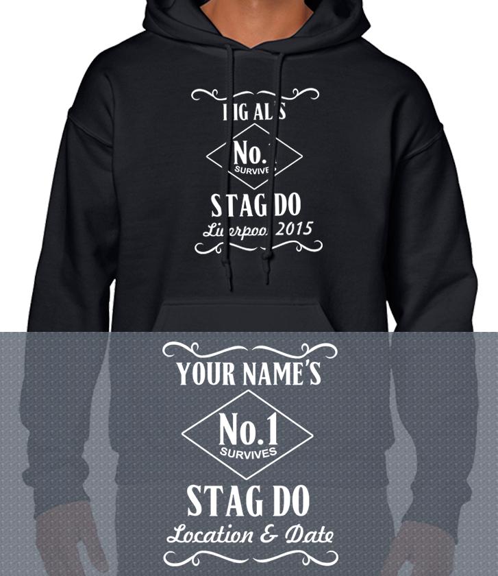 31987c83 Jack Daniels custom stag holiday T Shirts