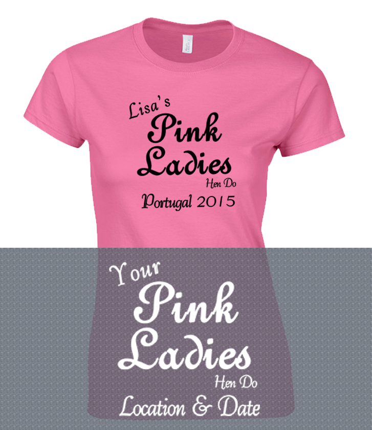 Pink Ladies Hen Party Girls Holiday , pink ladies hen partyT Shirts